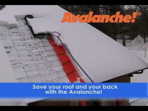 Avalanche Wheeled Roof Rake, Model# AVA500