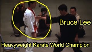 Bruce Lee One Inch Punch Brutal SPEED and POWER!