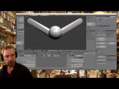 Dzhanibekov Effect in Blender Game Engine