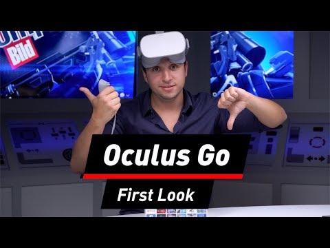 Oculus Go im First Look: Was kann Facebooks VR-Brille?
