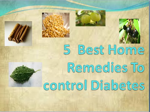managing diabetes naturally | 5  Best Home Remedies To control Diabetes