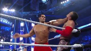 The Great Khali, Hornswoggle & Natalya vs. Epico, Primo & Rosa Mendes - Six-Person Mixed Tag Team Ma