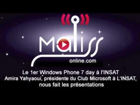 Tunisie : l'INSAT fait la promotion du Windows Phone 7 de Microsoft
