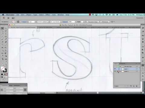 Illustrator Pen Tool Tutorial - Part 1