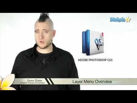 Learn Adobe Photoshop - Layer Menu