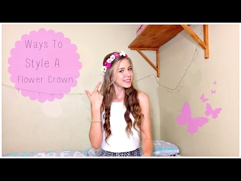 Quick And Easy Hairstyles | Flower Crown Edition