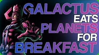 Wiki Weekdays| Galactus Eats Planets For Breakfast