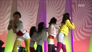 yu chaeyoung  i like    music core 20090425