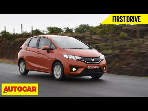 2015 Honda Jazz | First Drive Video Review | Autocar India