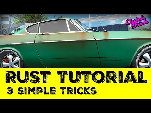How to Paint Rust: Tutorial