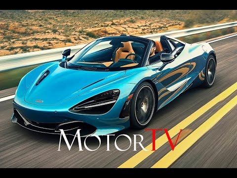 The new 2019 McLaren 720S Spider 4.0 twin-turbo V8 720 Hp l Drive & Design