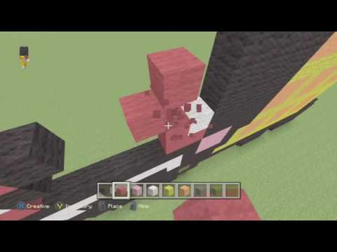 How To Build Evil Nyan Cat On Minecraft