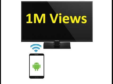 connect android phone to tv not wifi enabled