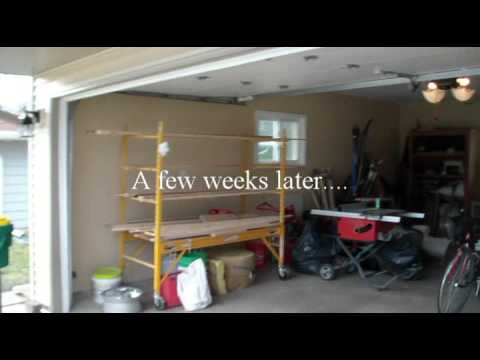 Home Remodel Fixer Upper Part 14 Entry Way To Garage and Garage Beautification