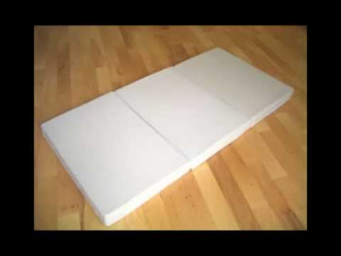 MemorRest Memory Foam Folding Guest Bed- Ultimate Sleep