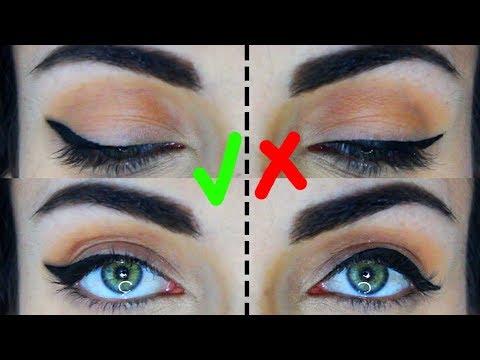 How To: Eyeliner For Hooded Eyes | Do's and Don'ts | MakeupAndArtFreak