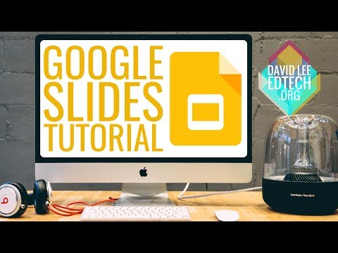 How To: Quick Tutorial for New Google Slides Presentation 2018