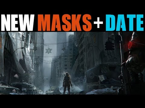 THE DIVISION - BLACKOUT RELEASE DATE + NEW FACE MASKS REVEALED! (GLOBAL EVENT BLACKOUT)