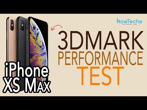 iPhone XS Max  - 3DMark Benchmark Test vs iPhone 7+