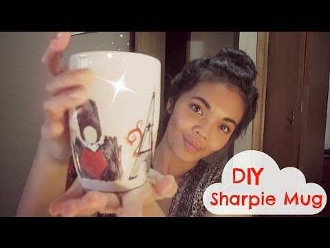 DIY Mug Sharpie