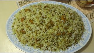 Mash Palaw Recipe | Afghan Rice with Mung Beans |  Easy and Tasty Pulao طرز تهیه ماش پلو خوشمزه