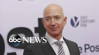 Download Jeff Bezos accuses National Enquirer of extortion Video