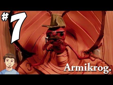 Armikrog Walkthrough Gameplay - PART 7 - Electric Car Ride & Bully!