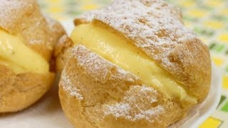 Cream Puffs (Choux Créme) Recipe | Cooking with Dog