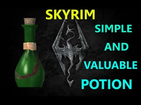 TES V Skyrim SIMPLE AND VALUABLE POTION
