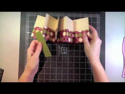 How to Make a One Sheet Mini Pocket Book
