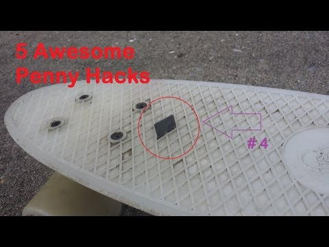 Guy in Crocs shows how to upgrade cruiser boards