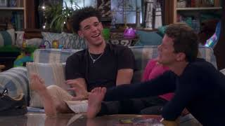 Lonzo Ball Scene on Fuller House