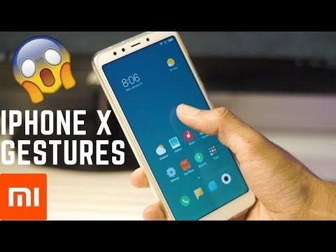 iPhone X Gestures on Redmi 5! (And Other Xiaomi Mi Phones)