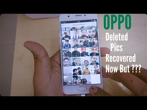 OPPO Mobile - Recovered Deleted Pictures but how ????