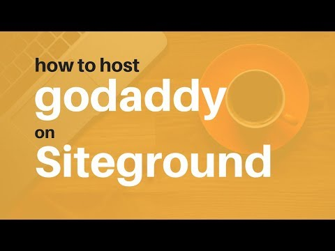 How to Point Godaddy Domain Name to Siteground Hosting Account IP Address