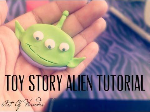 DIY Toy Story Alien | Polymer Clay Tutorial