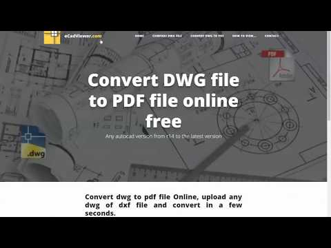 dwg to pdf converter free online , dxf to pdf converter  - ecadviewer