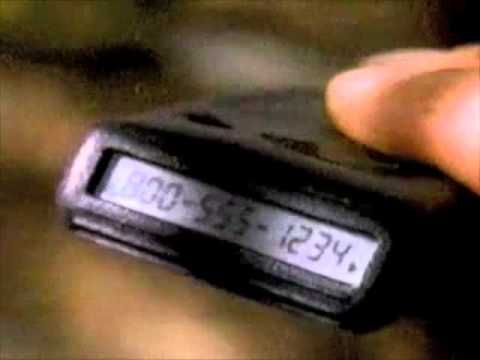 Motorola Pager commercial (version 1) - 1995