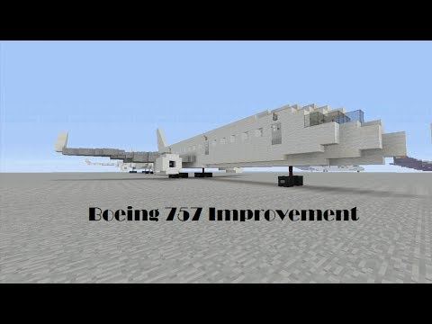 Minecraft Tutorial - Boeing 757 Improvement
