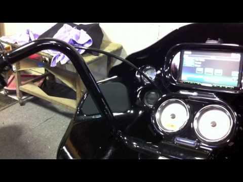 2001 Harley Davidson Road Glide custom install