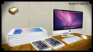 ✔ Minecraft: How to make Apple Products