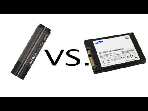 USB 3.0 Pendrive Vs. USB 3.0 SSD Speed Test