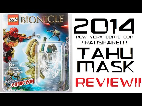 BCC: The 2014 NYCC Tahu Mask Review!