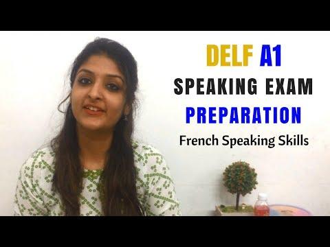 DELF A1 French Speaking Practice - Production orale l'examen - Simulation de l'oral DELF A1
