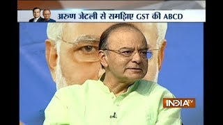 Gst Conclave Arun Jaitley Clarifies On People Filling Number Of Forms In Order To Pay Tax
