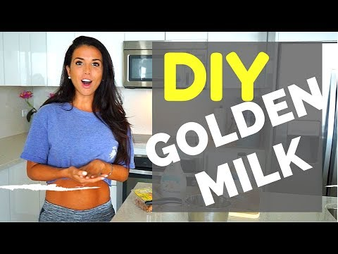 How to Make Golden Milk : The Drink that Will Change Your Life   Turmeric Benefits