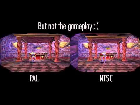 Medievil PSX - NTSC vs PAL Comparison
