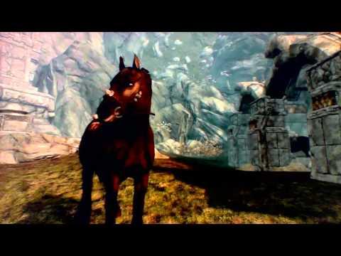 skyrim -  walk away horse glitch!