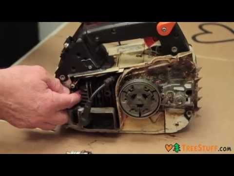 How to Fix a Chainsaw: Removing and Inspecting an Outboard Clutch Drive System