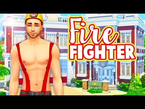 FIREFIGHTER CAREER🔥🚒 // MOD REVIEW | THE SIMS 4